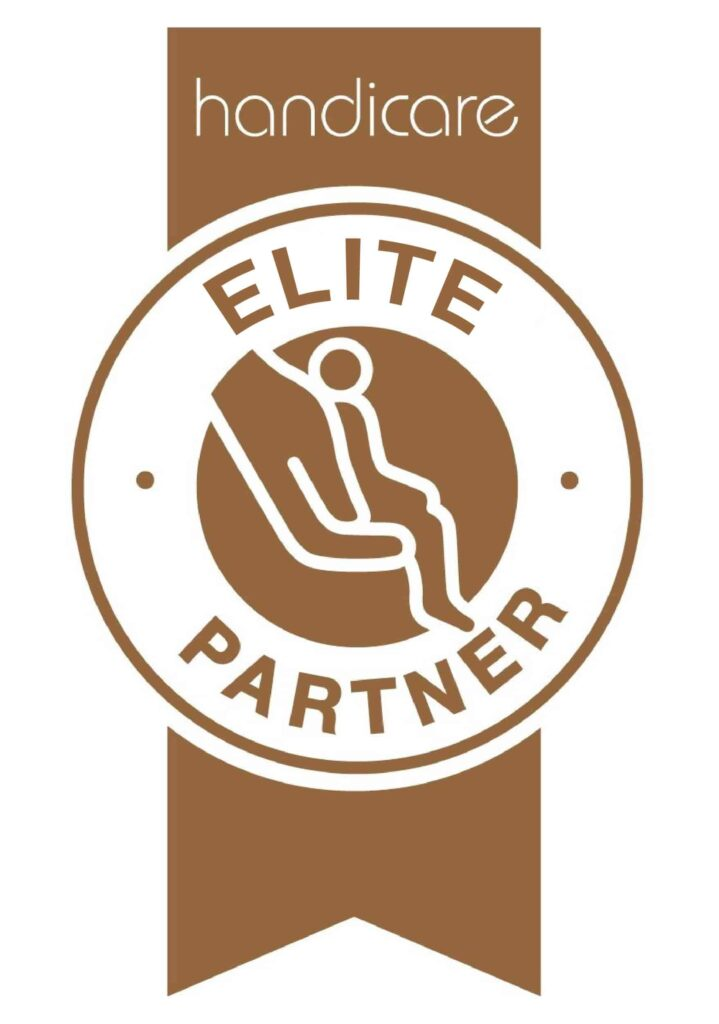 Handicare stairlifts Elite Partner logo