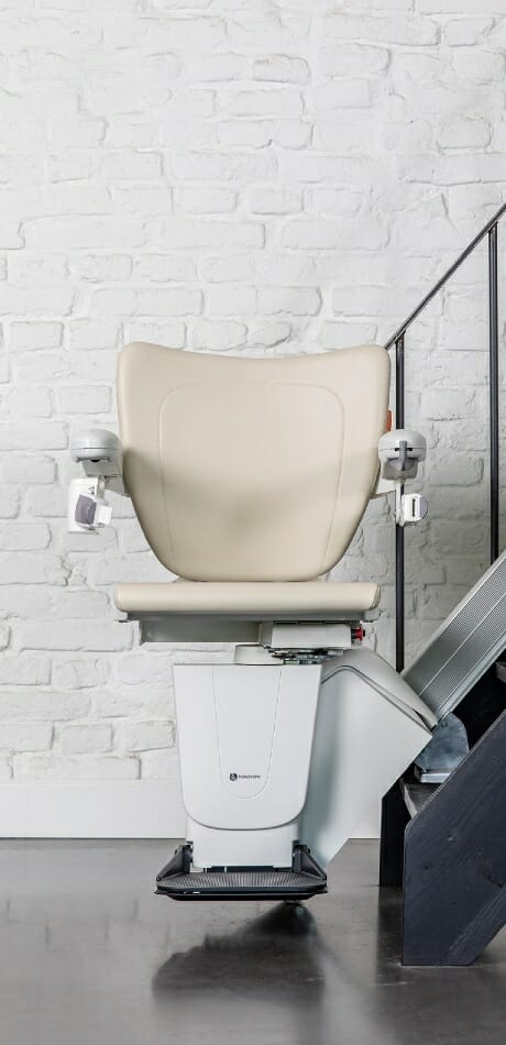 The handicare 1000 straight stairlift